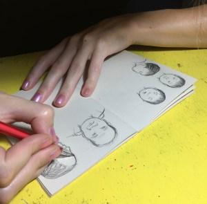 Sketchbookin'