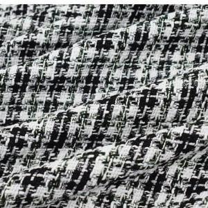 Italian Couture Tweed Fabric Polyester/Designer Tweed Fabric Alta Moda/Fashion week fabric