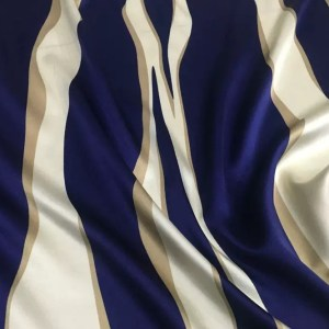 Emilio Pucci Silk Stretch fabric/Abstract stripes silk fabric/New Collection Fashion Week Italian Designer Silk