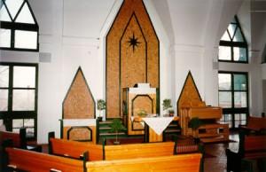 rozsateri templombelső