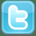 Twitter logo box