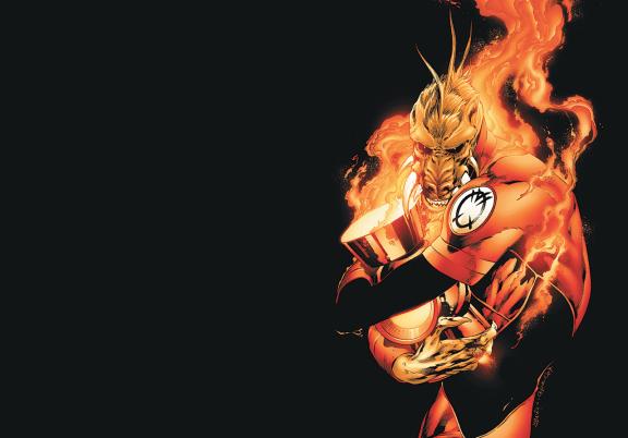Green Lantern Agent Orange