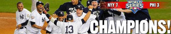 Yankees World Series 2009