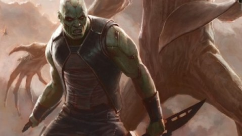 Dave Batista as Drax the Destroyer?