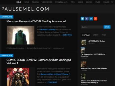 Check Out PaulSemel.com (Please!)