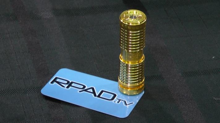 Grand Vapor Sentinel gold plated ECC 2013