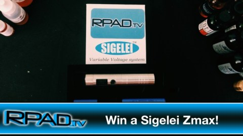 RPadTV 2014 Vaping Giveaway I: Win a Sigelei Zmax
