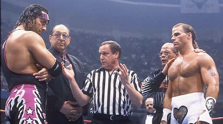 WWE Network Shawn Michaels Bret Hart