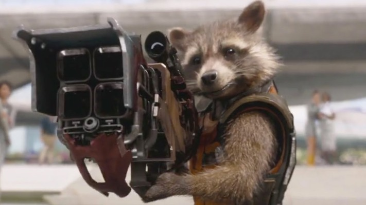 Guardians of the Galaxy movie review Rocket