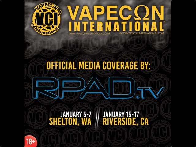 RPadTV Teams Up With VapeCon International