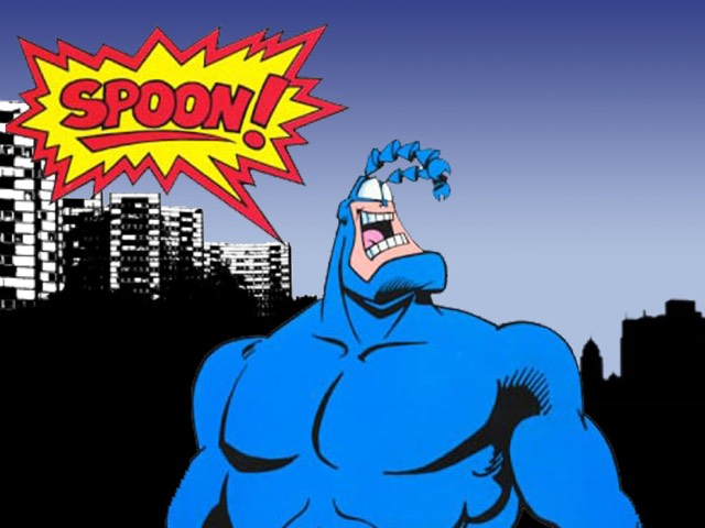 The Tick Coming to Amazon (Spoon!!!)