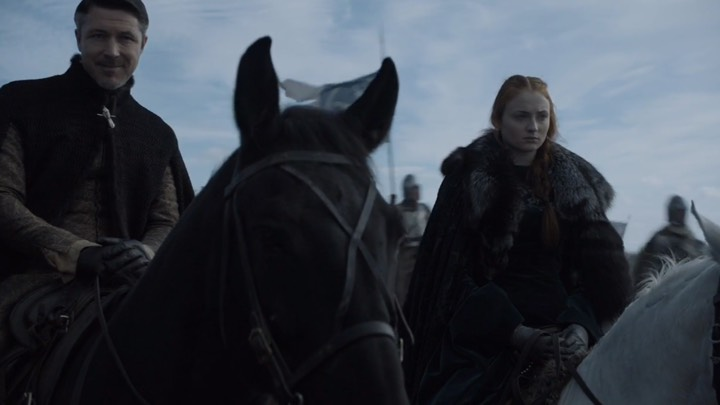 Battle of the Bastards Littlefinger Sansa