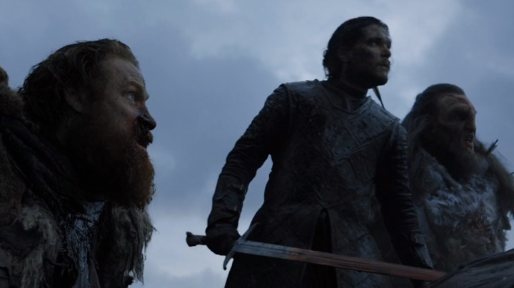 Battle of the Bastards Tormund Jon Wun Wun