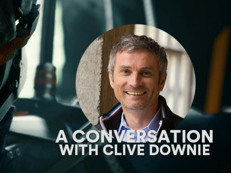Clive Downie Interview (Unity 3D, Dice Europe 2016)
