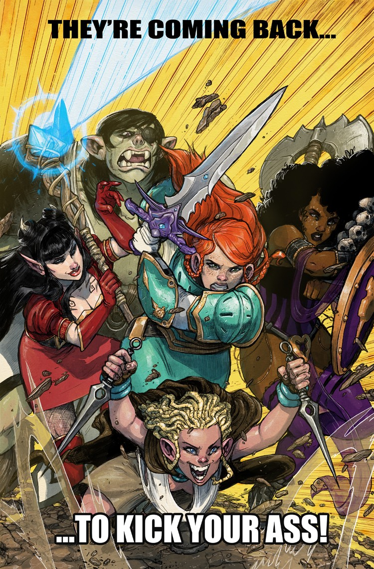 Rat Queens March 2017
