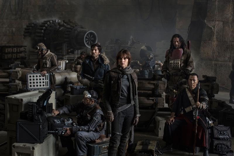 Star Wars Rogue One Crew