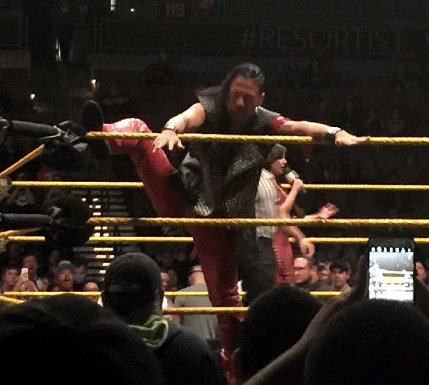 NXT Las Vegas Shinsuke Nakamura 1