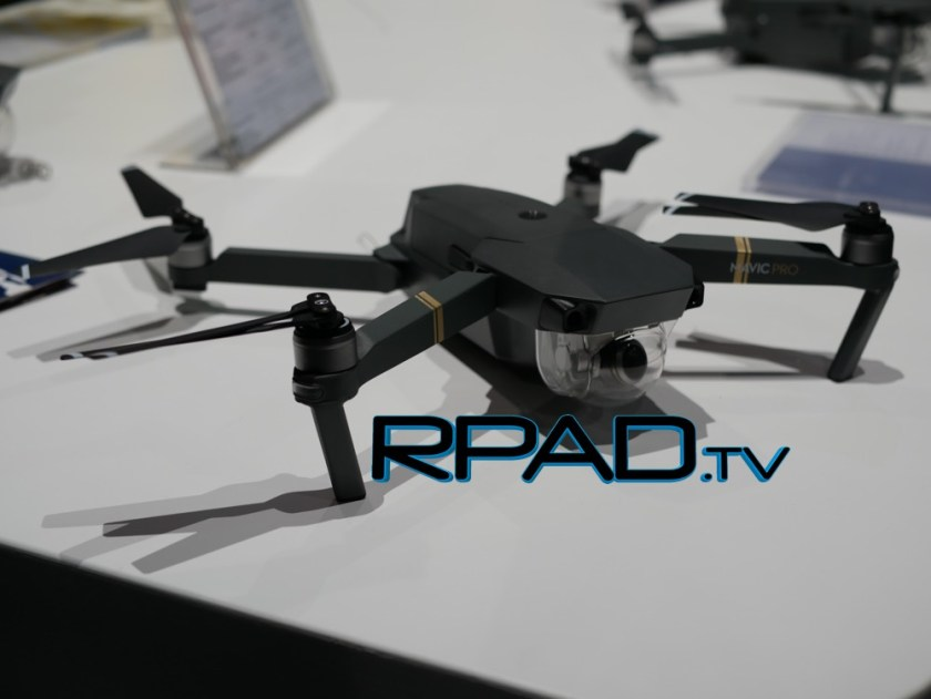 DJI Mavic side view