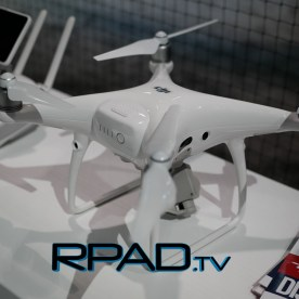 DJI Phantom 4 Pro side view