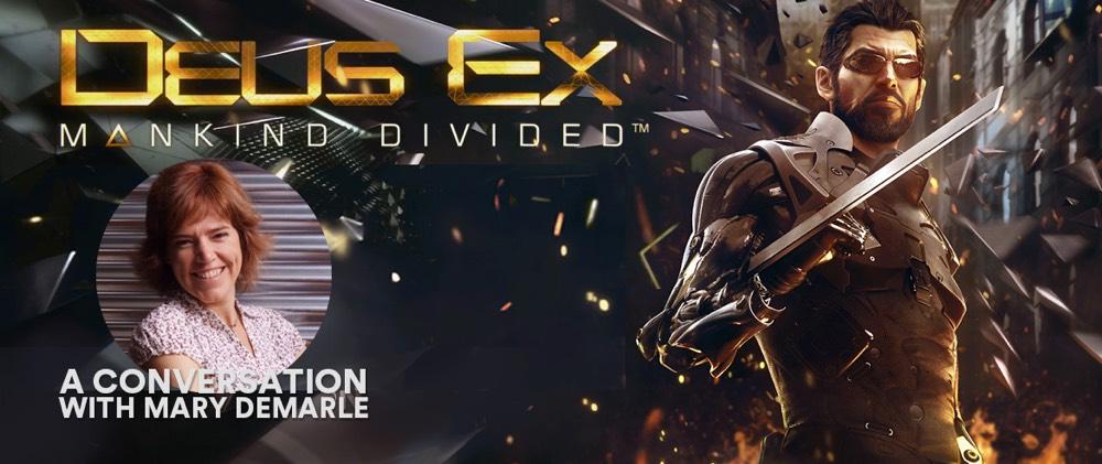 Mary DeMarle Talks Deus Ex (DICE Europe 2017)