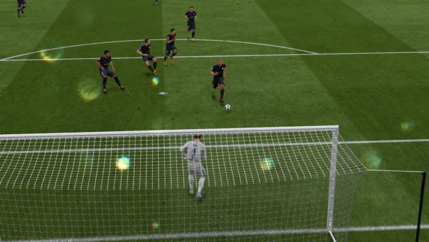 David Silva FIFA 18 approach