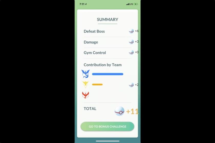 Pokemon Go Pokemusings Team Bonus