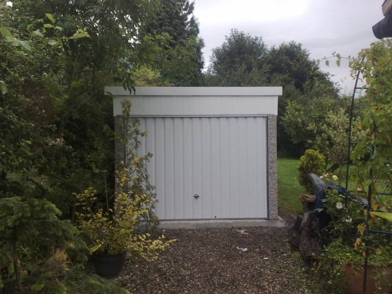 LEAN TO BACK PICTURE 2 768x576 - Single Garages