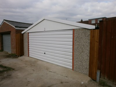 NEW STANDARD CHALLENGE DOUBLE GARAGE PICTURE 3 - Double Garages