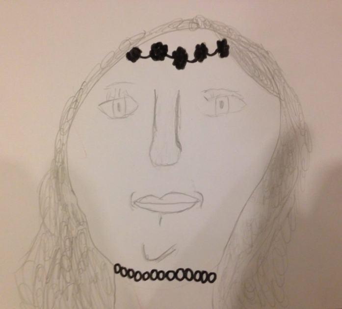 Celeste's Self-portrait