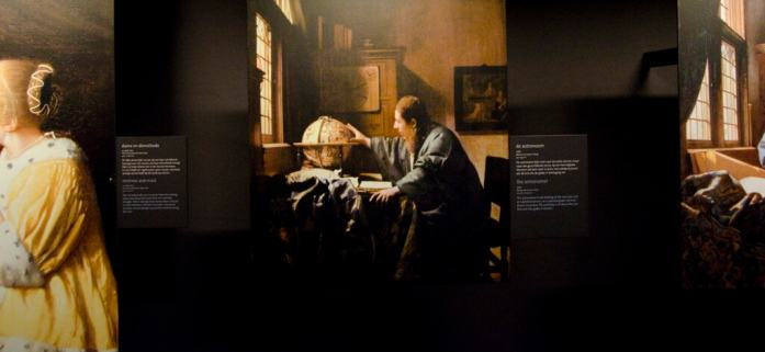 the astronomer in vermeer centrum delft