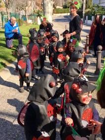 La desfilada a Castell d'Aro