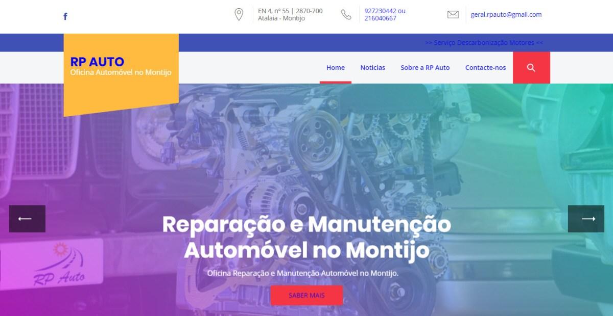 RP Auto: Oficina Automóvel Montijo