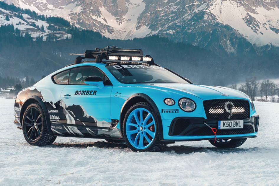 Bentley Continental GT GP Ice Racer de 626 cv