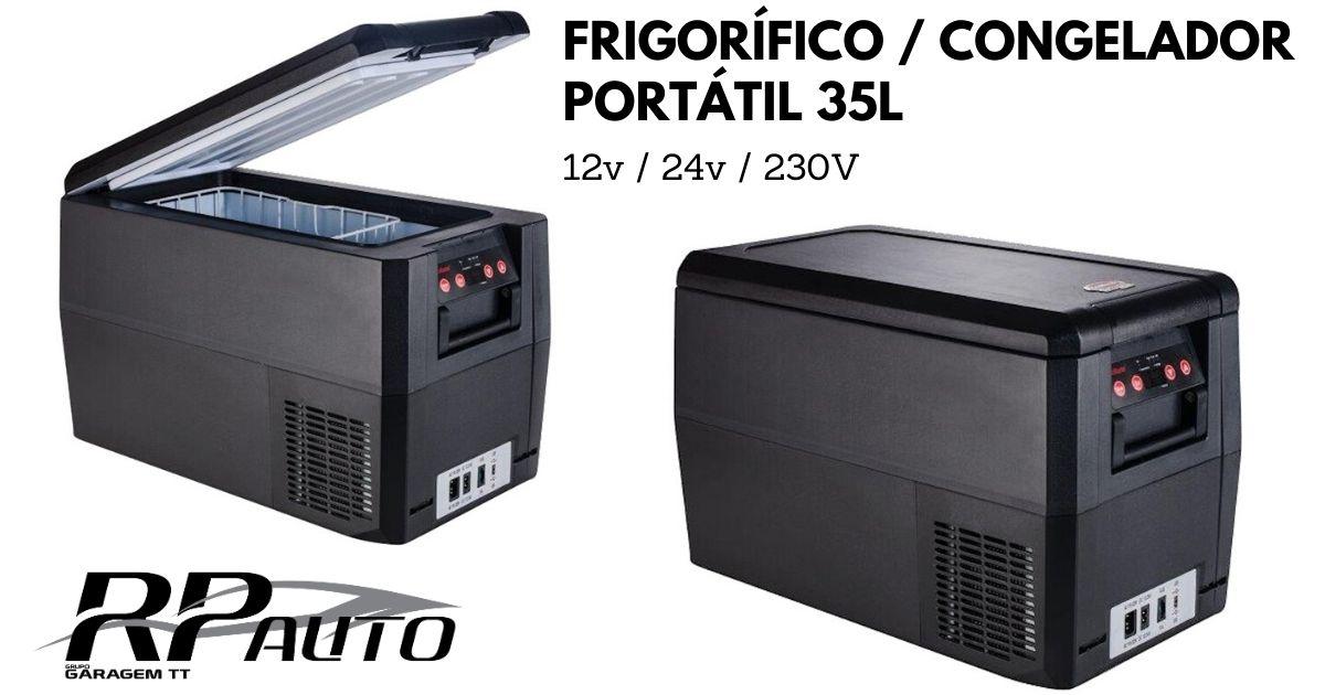 Frigorifico SnoMaster 12V-24V-230V 35L