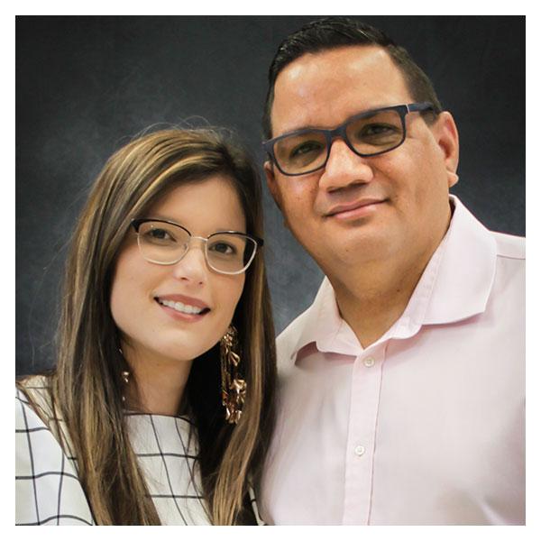 Edwin y Jhoana Cruz