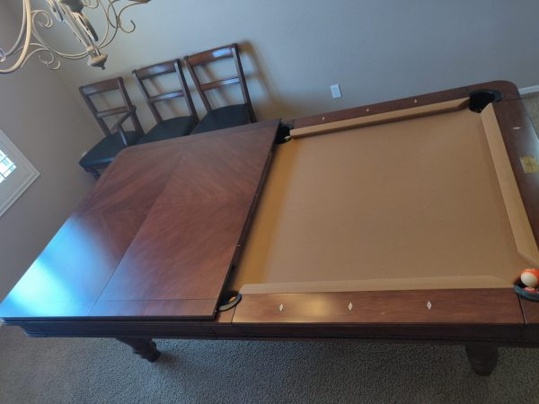 CONVERTIBLE DINING/BILLIARDS TABLE