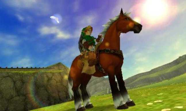 ocarina of time epona mount