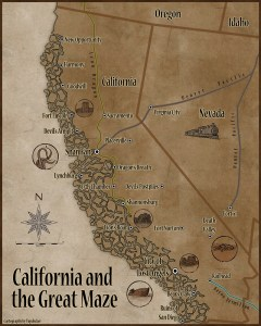 California and the Great Maze