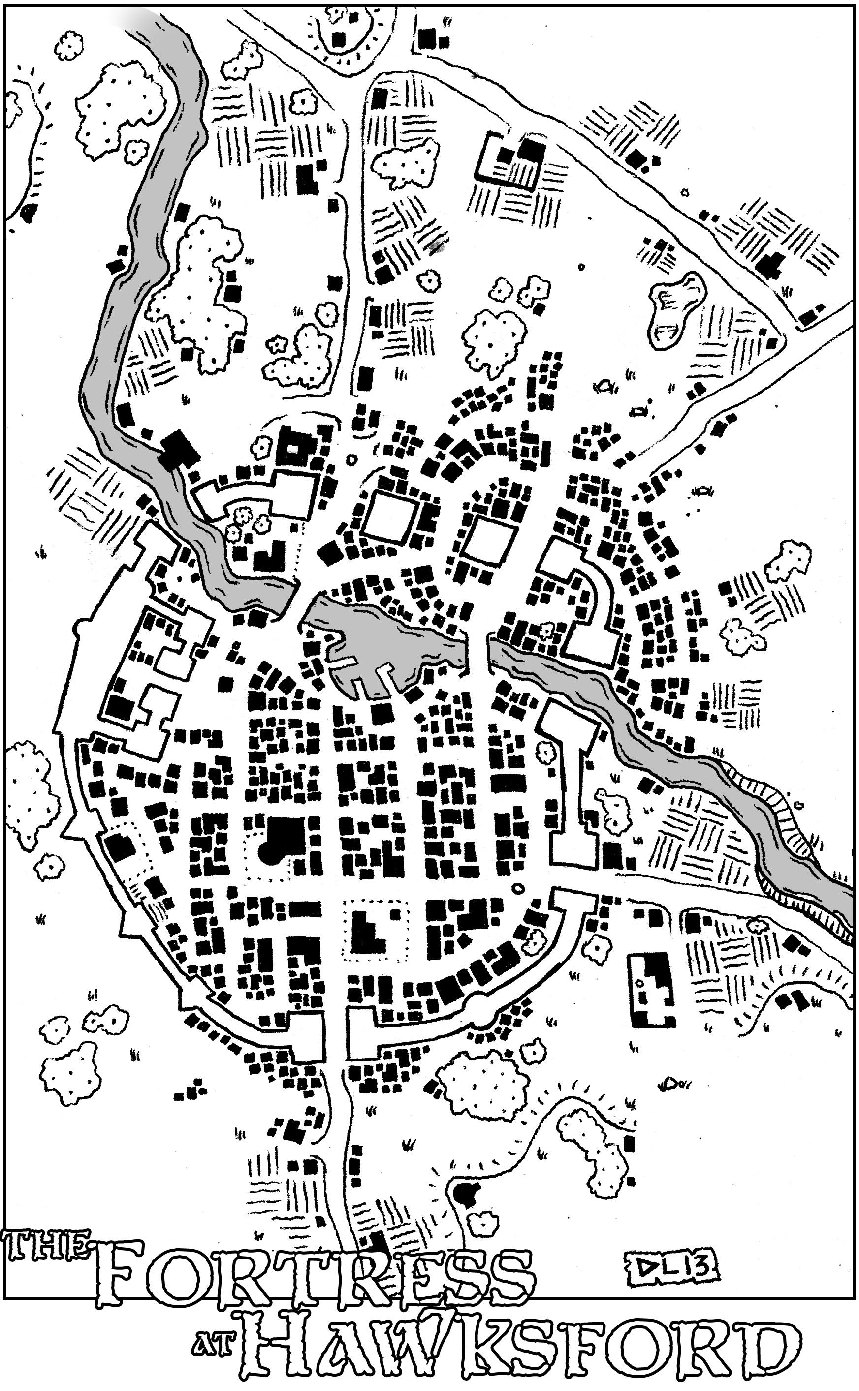 Friday Map The Fortress At Hawksford