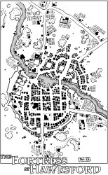 map fortress fantasy hawksford town dragons dungeons rpg maps friday village dyson down saltmarsh