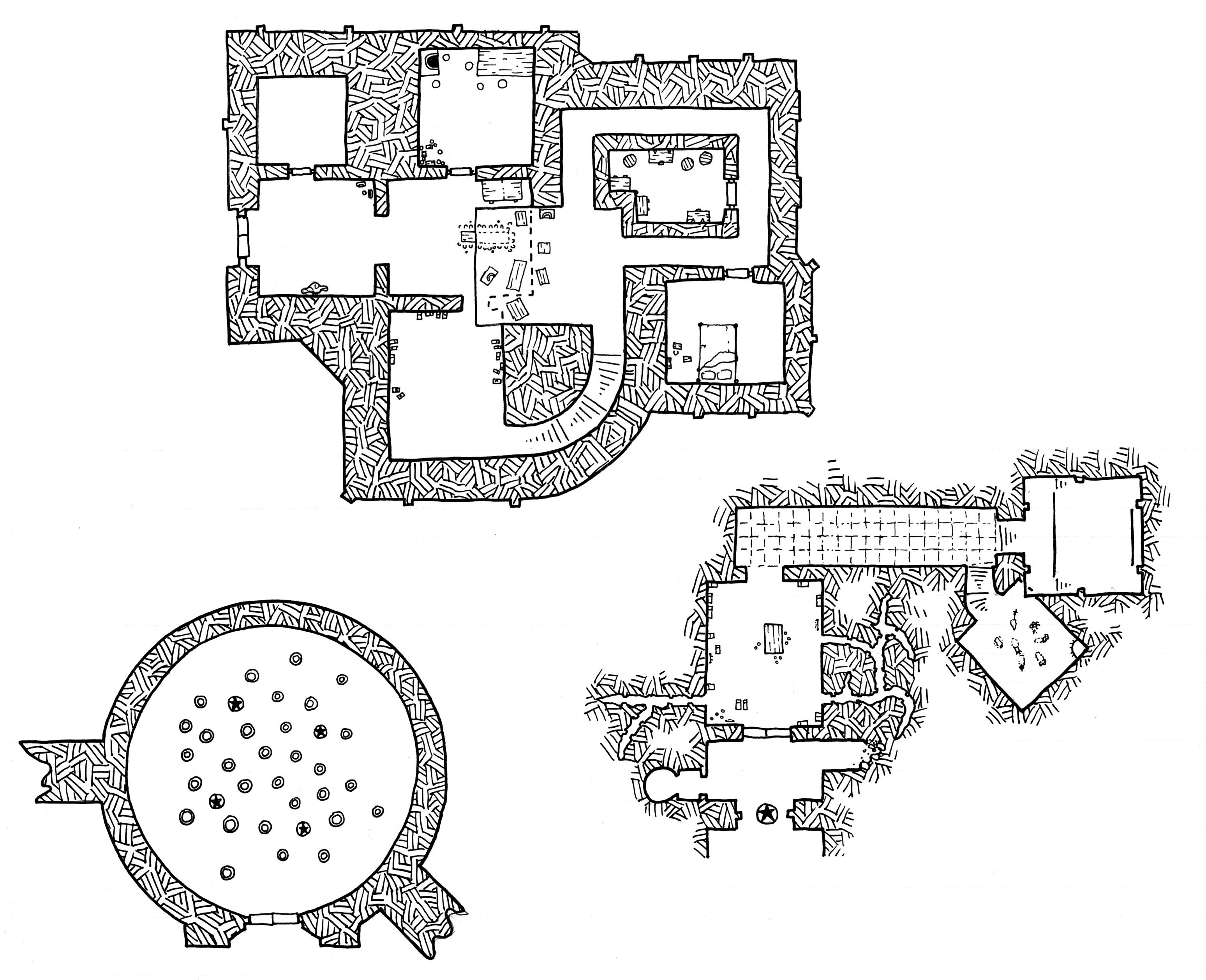 Friday Map Chambers Amp Constructions Of Castle Gargantua