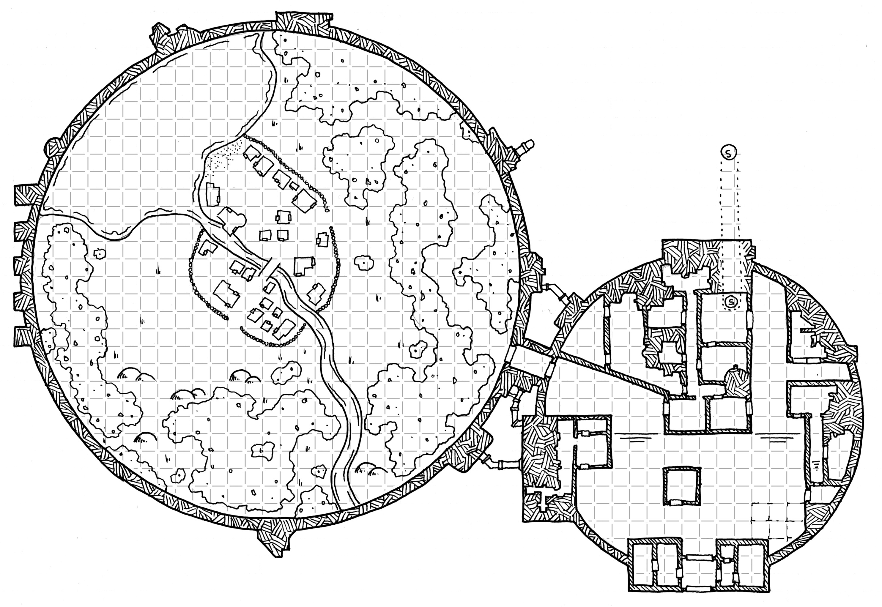 [Friday Map] R-AN (NorthCott) Sociological Research Domes