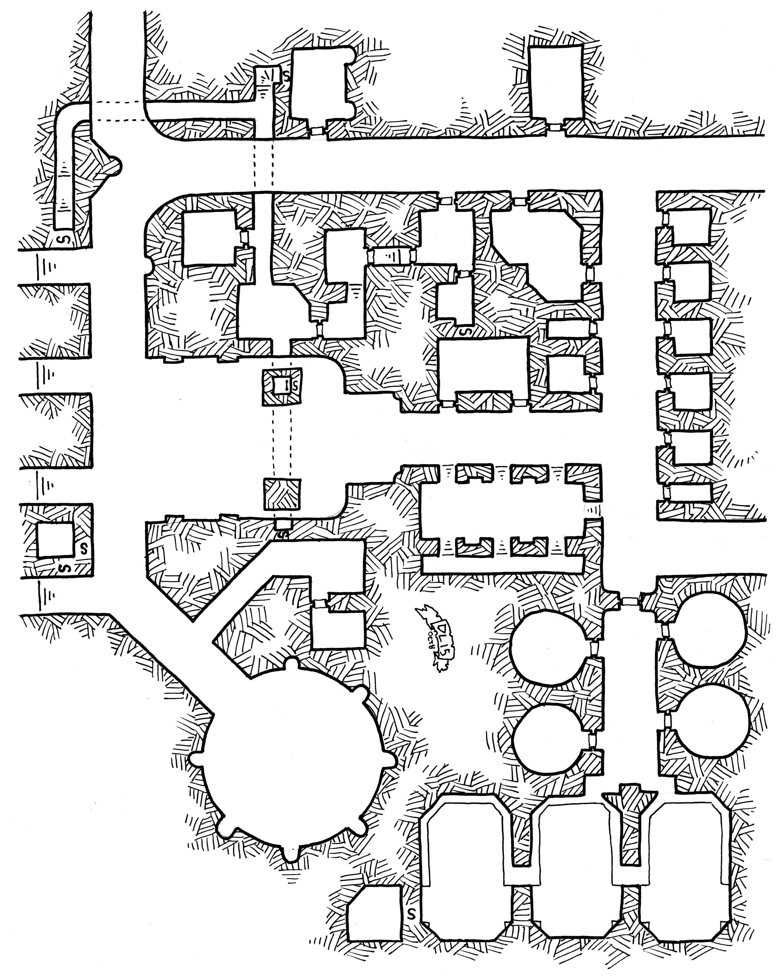 Free Rpg Dungeon Maps