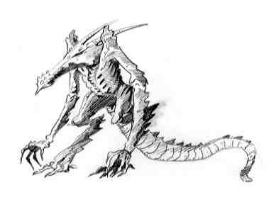 RPGGamer.org (Creatures D6 / HellDrake Asteroid Dwelling
