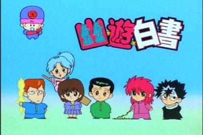 Yu Yu Hakusho Group-SD