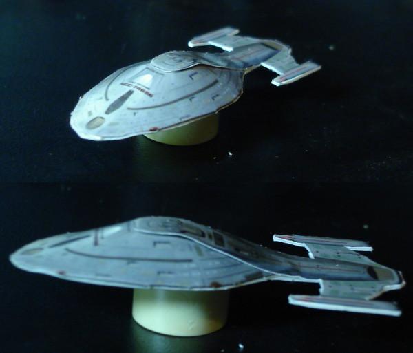 Nave Estelar da clasee Intrepid USS Nautilus