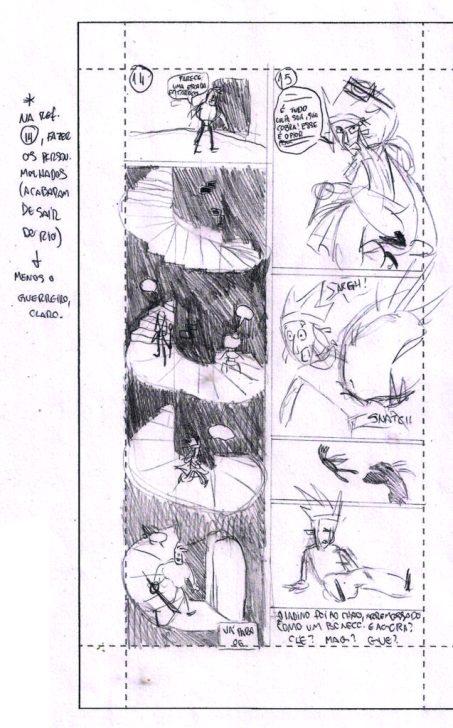 Página do storyboard.