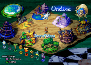 Cenários e Sistemas de RPG 2 (Fonte Legend of Mana)