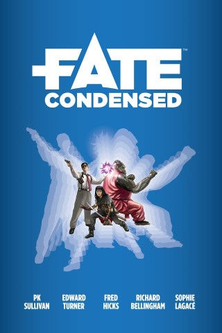 Capa do Fate Condensed RPG
