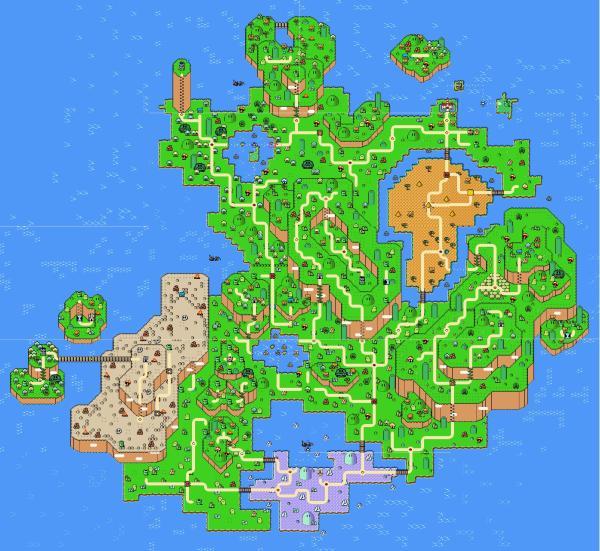 Super Mario Rpg Map Exploring Mars